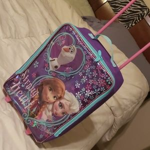 Kid's Frozen Luggage